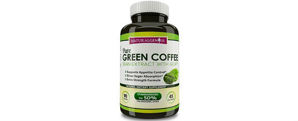 Natural Genius Pure Green Coffee Bean Extract with GCA Review