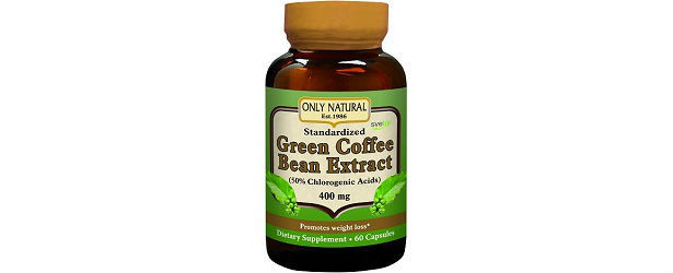 Only Natural Green Coffee Bean Extract with Svetol Review